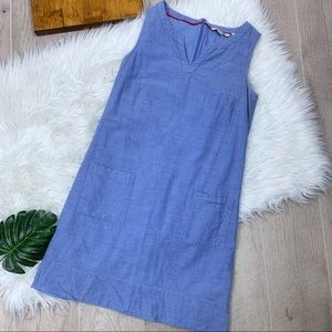 Boden | Double Pocket Jean Dress |2458